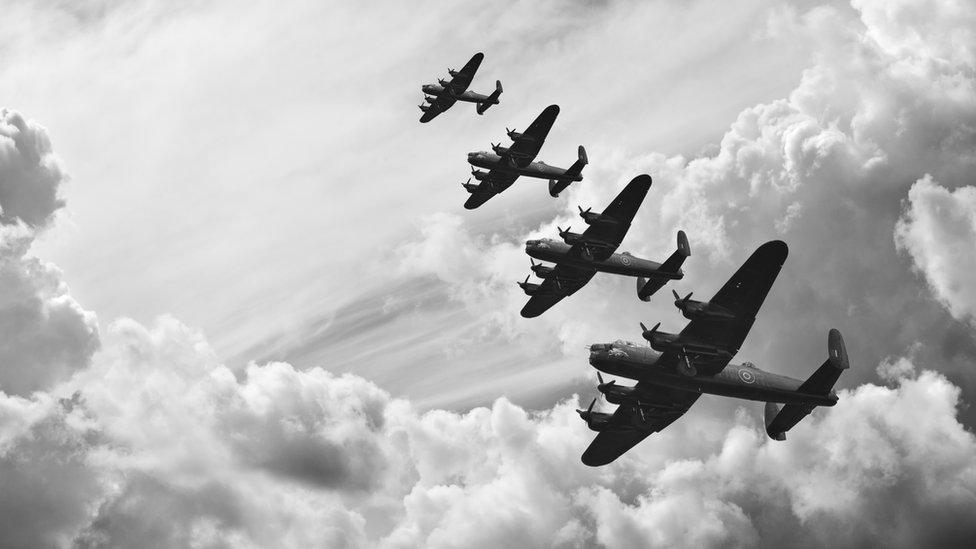 Aviones ingleses de la Segunda Guerra Mundial