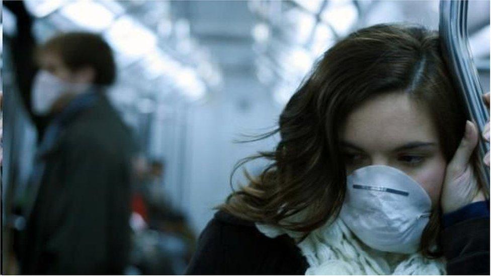 病菌會長時間漂浮在地鐵車廂裏(圖片來源:Getty Images)