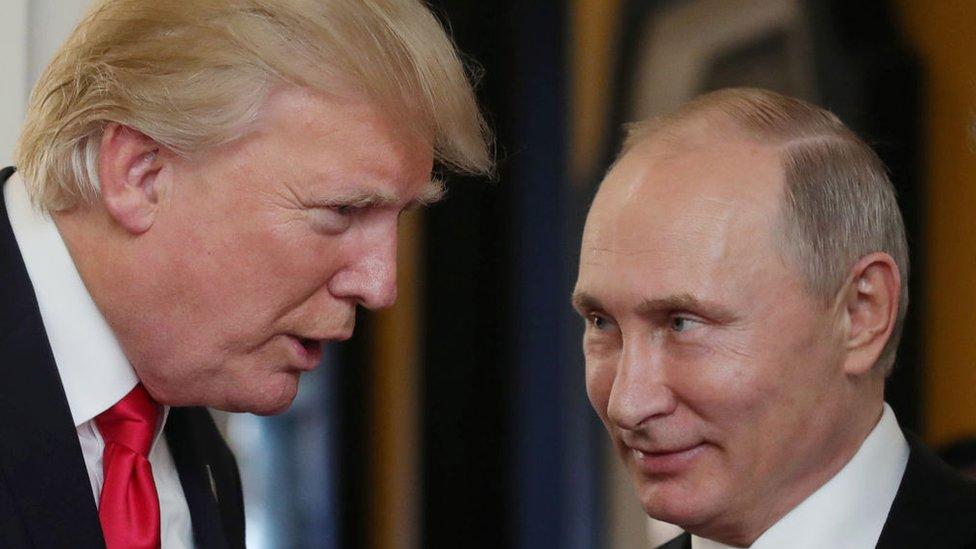 Donald Trump y Putin
