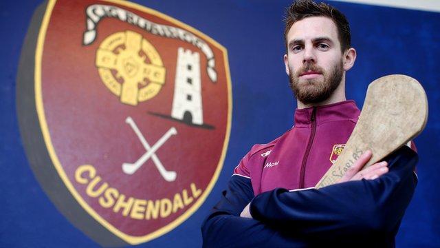 Cushendall and Antrim forward Neil McManus