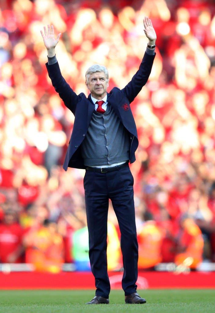Wenger se despidió de Arsenal tras 22 años, tres títulos en la Liga Premier y siete Copas FA.