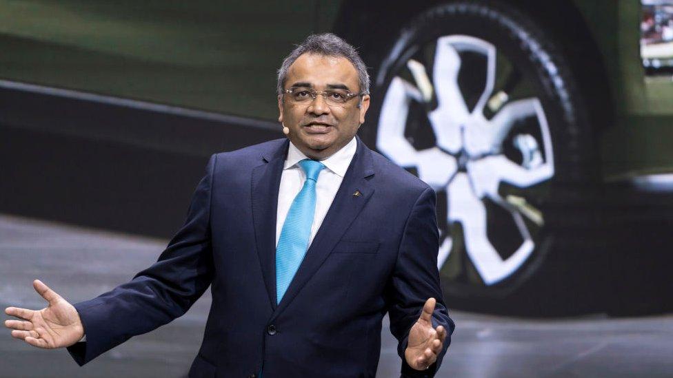 Nissan's Ashwani Gupta
