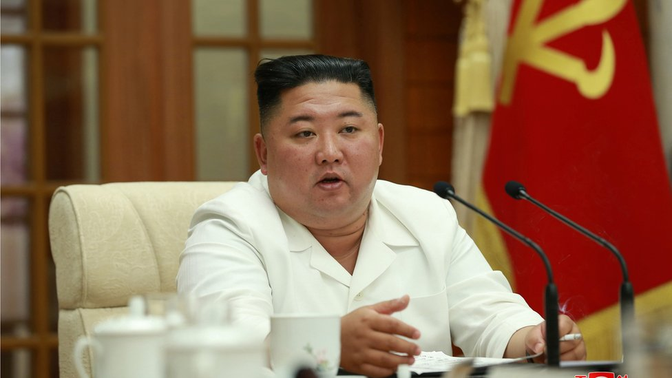 Kim Jong Un Apologises For Killing Of South Korean Official South Bbc News