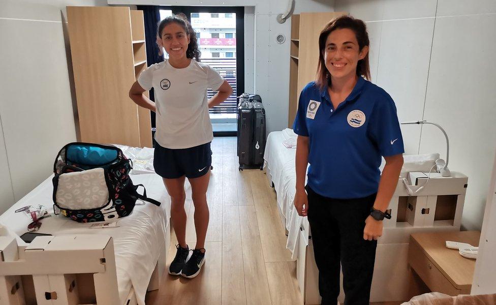 Argentina Solórzano e Celina Márquez