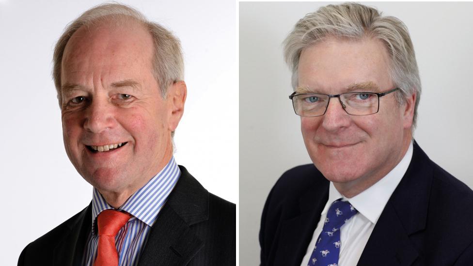 Peter Lilley and Sir Edward Garnier