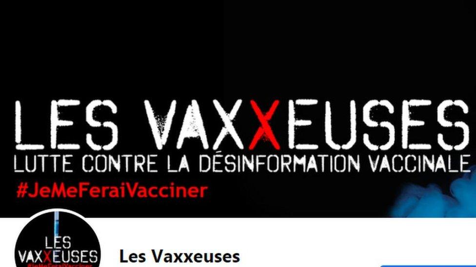Perfil en Facebook de Les Vaxxeuses