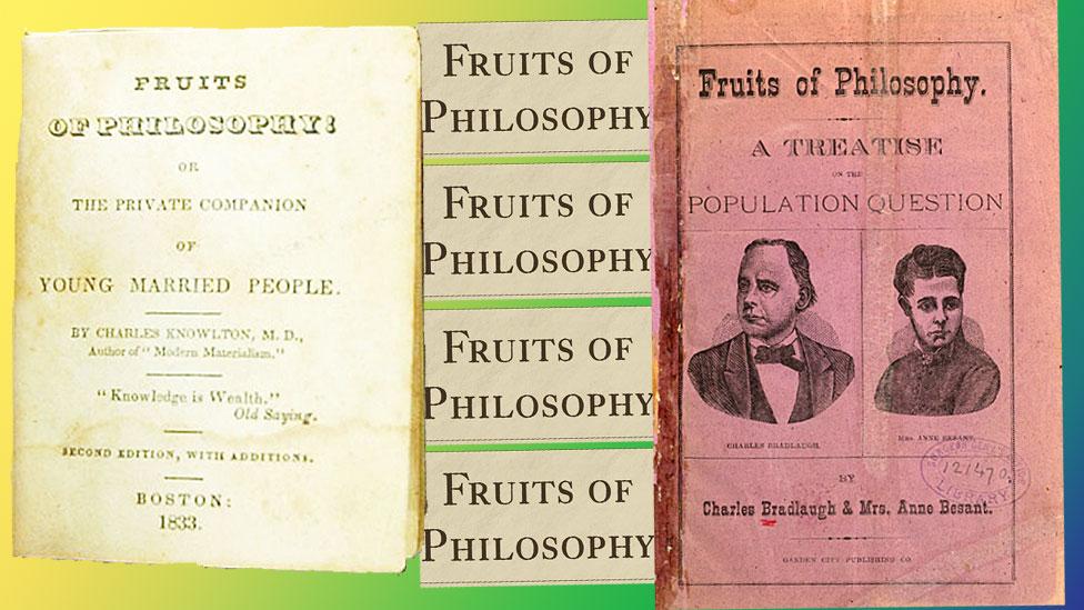 Dos versiones de Frutos de filosofía.