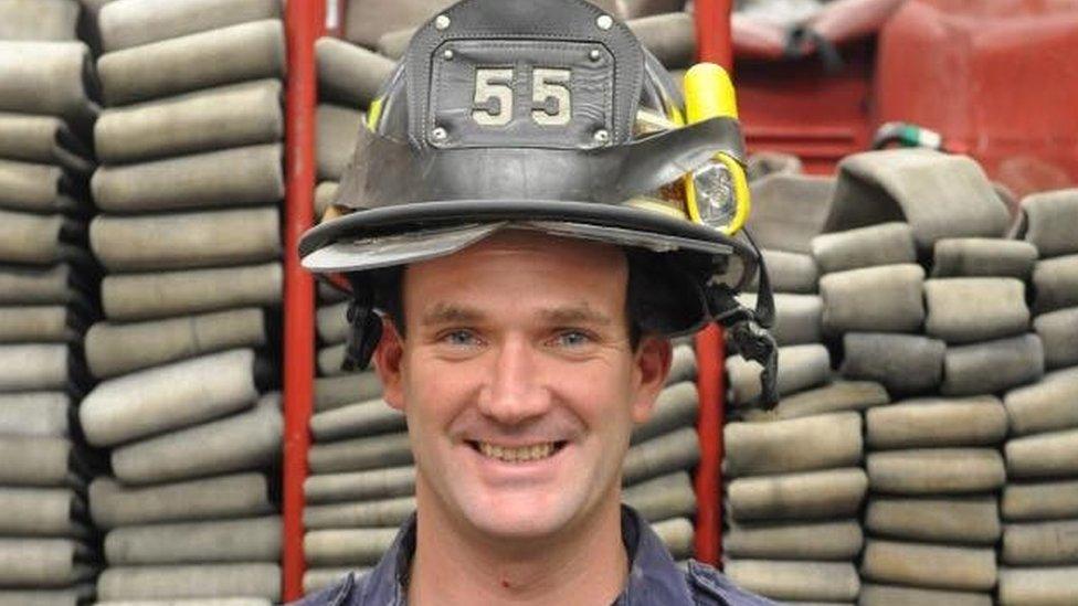 Former New York firefighter Thomas Phelan