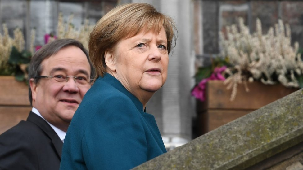Who Wants To Follow In Merkel S Footsteps Bbc News