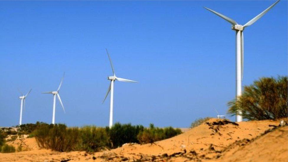 Вітряні турбіни в Марокко
