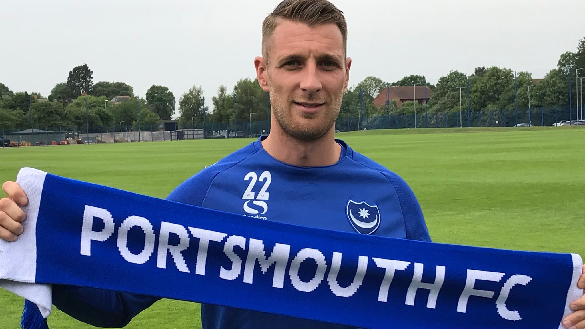 Lee Brown: Portsmouth sign Bristol Rovers defender