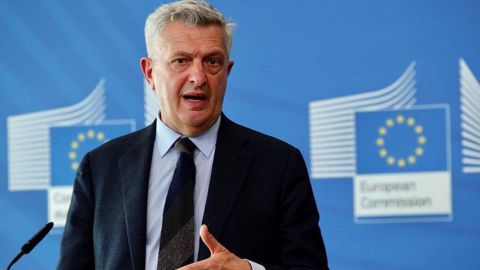 Filippo Grandi de ACNUR en mayo 2021
