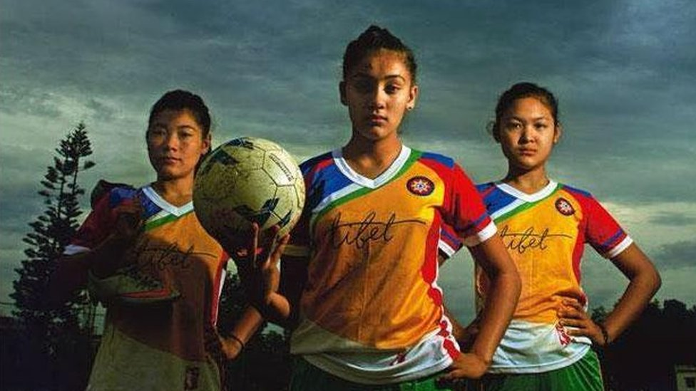 "Tibet Women's Soccer team are in ""good spirits"" despite not being able to visit the US"
