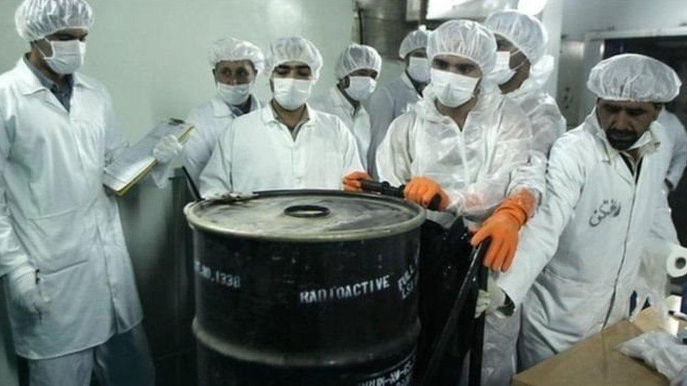 ن روحاني أنّ بلاده ستعمد إلى تخصيب اليورانيوم بمستوى يتخطّى نسبة 3,67 في المئة التي حدّدها الاتّفاق النووي