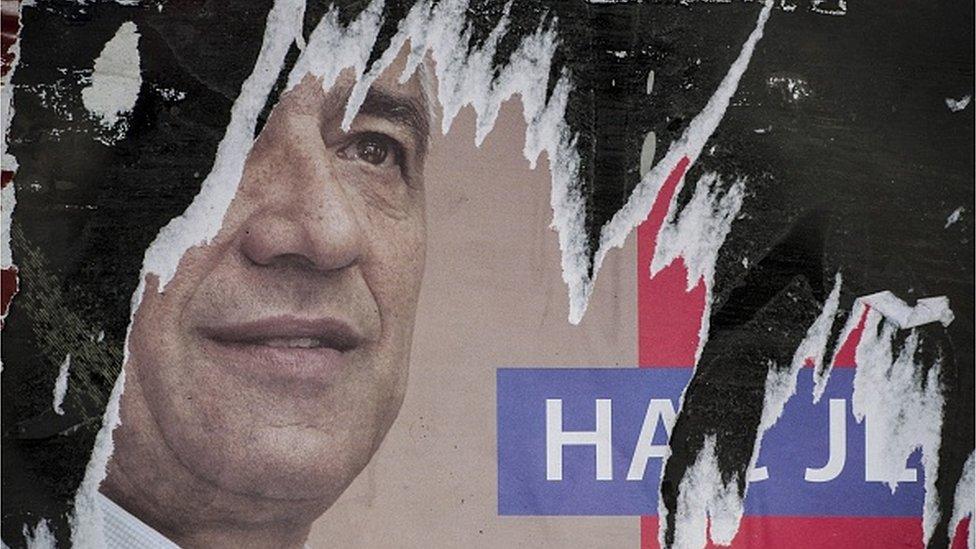Predizborni poster Olivera Ivanovića