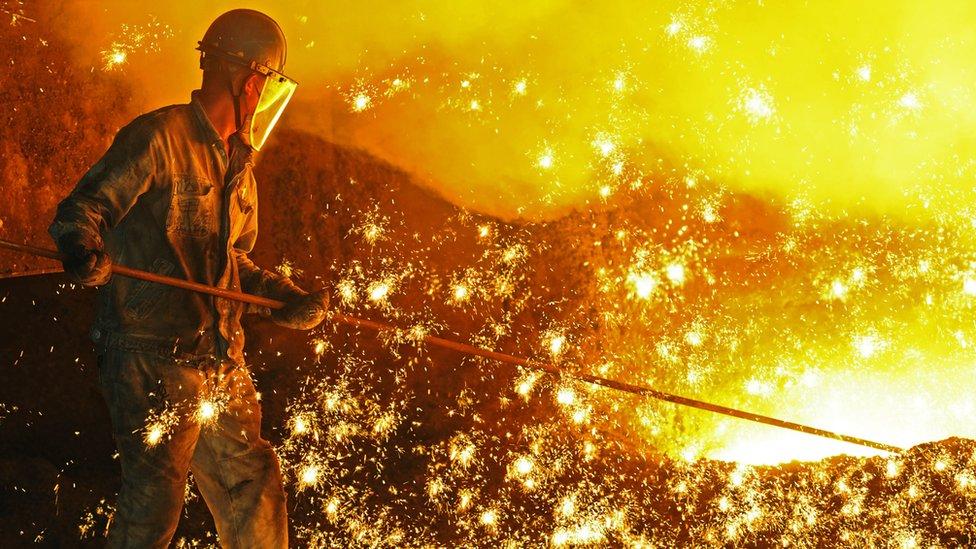 中國鋼鐵工人