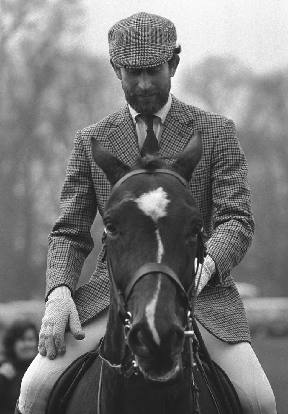 Princ Čarls na konju u Badmintonu