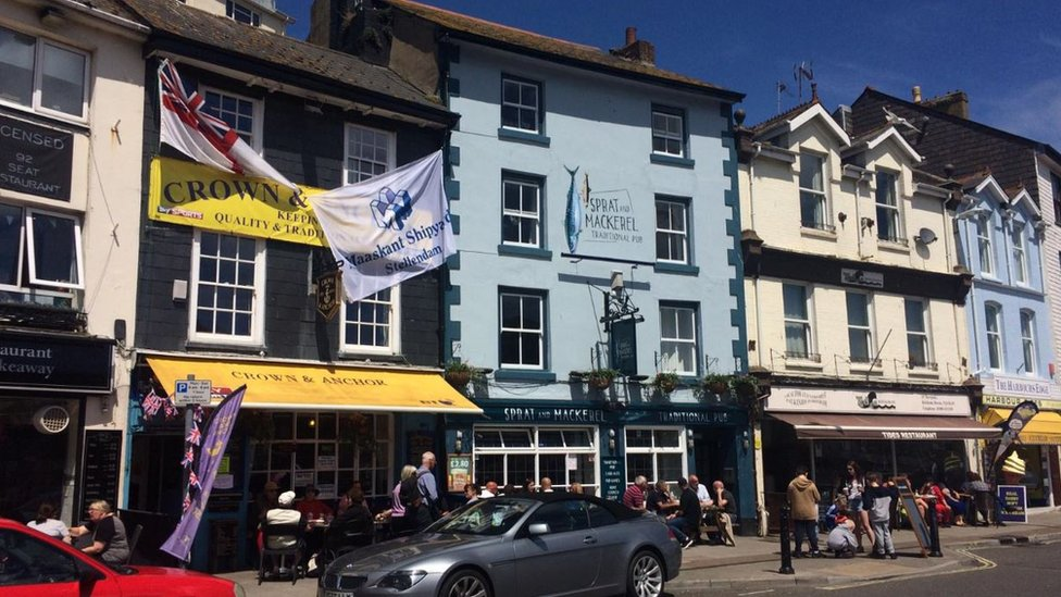 Brixham stabbing: Man charged after attack outside pub