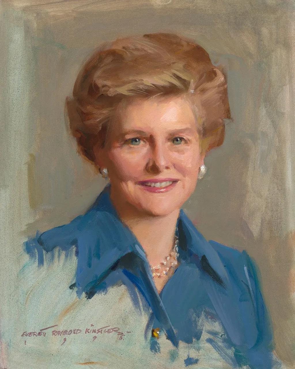 Betty Ford fue sincera sobre su dependencia de las drogas y el alcohol, y más tarde fundó el Centro Betty Ford