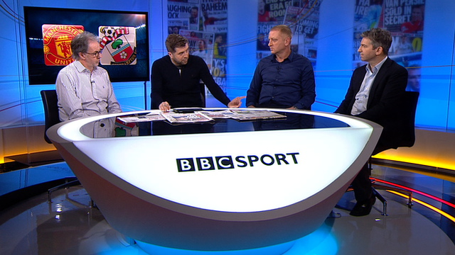 The Match of the Day 2 Extra panel discuss Louis van Gaal and Man Utd