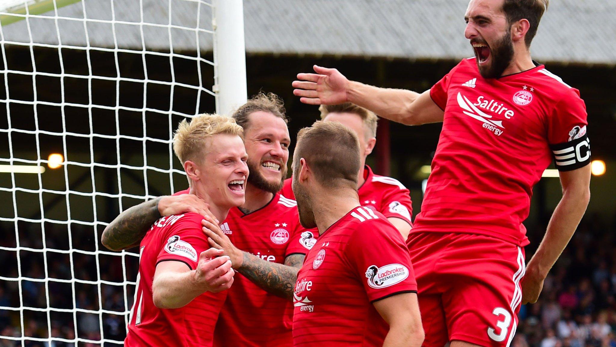 Dundee 0-1 Aberdeen