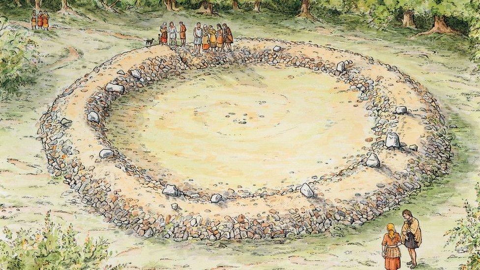 В англійському лісі знайшли таємниче стародавнє коло