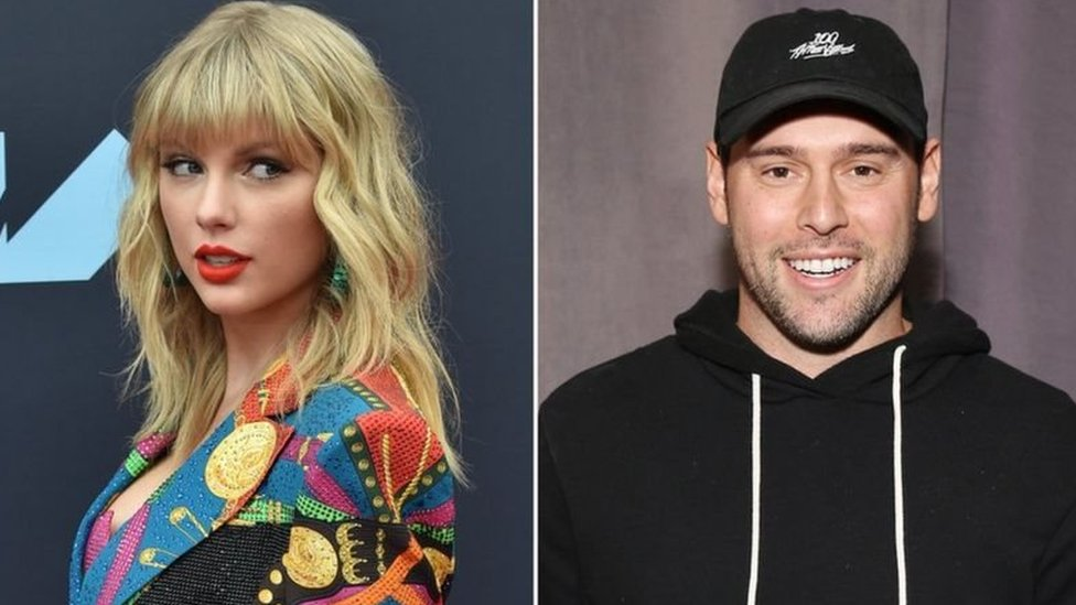 Taylor Swift ve Scooter Braun