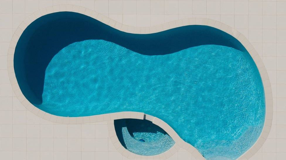 Aerial picture from The Beauty Of Swimming Pools