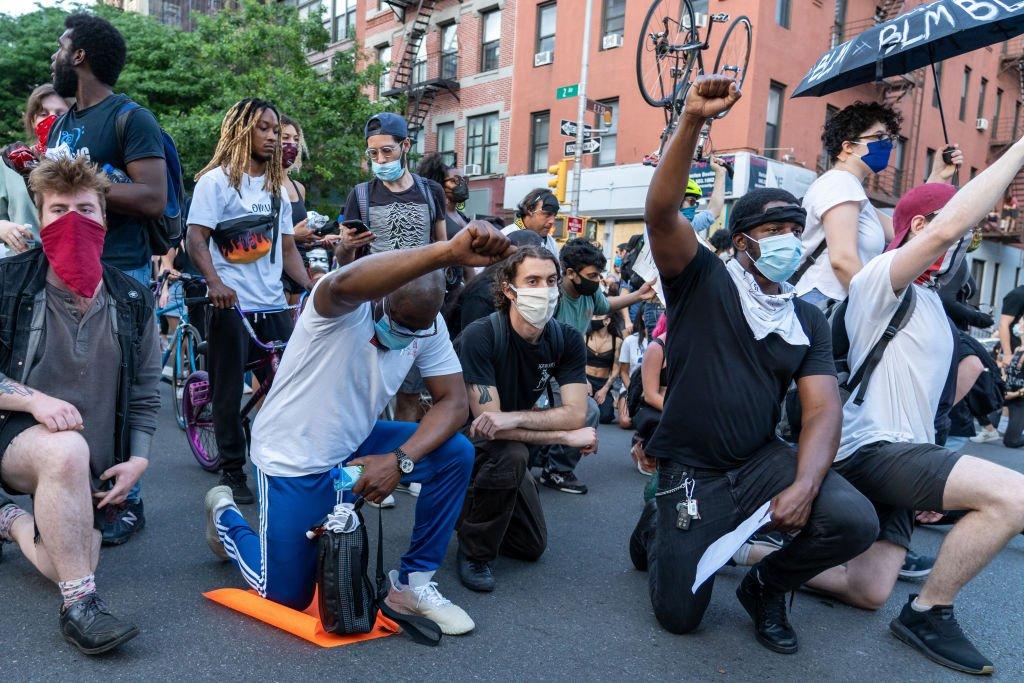 Na protestu u Njujorku