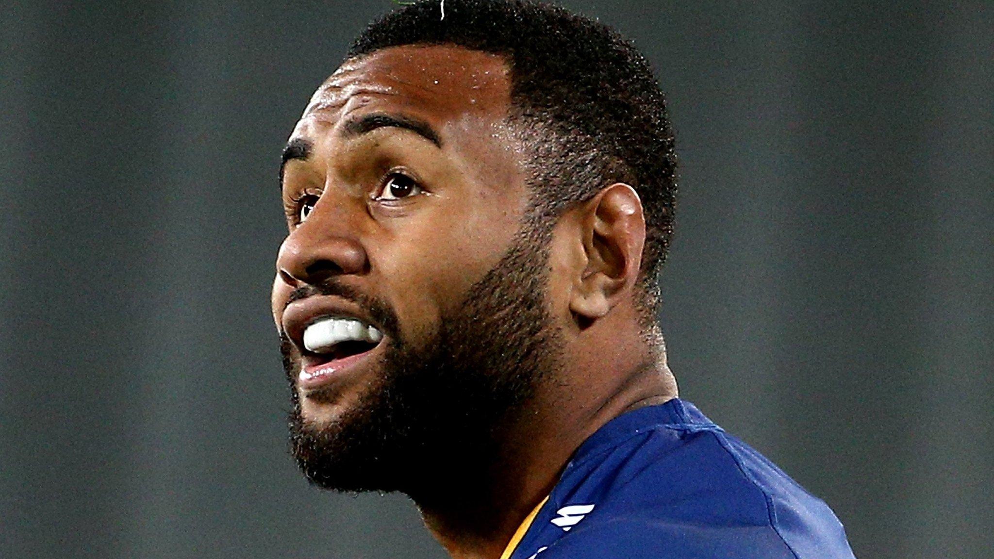 Otago wing Nareki plays with 'smashed testicle'