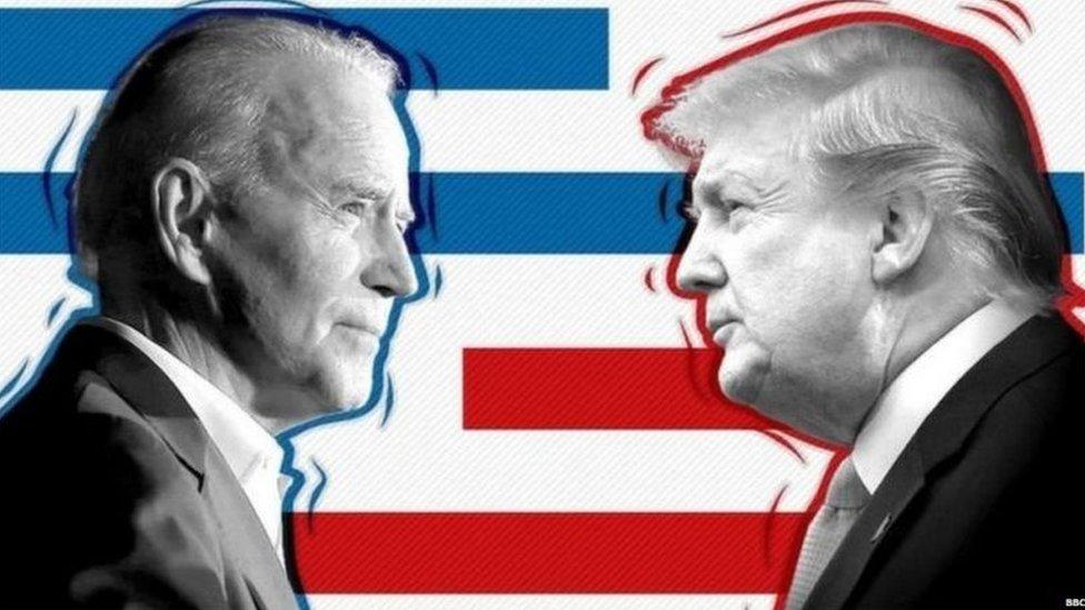صدر ٹرمپ اور جو بائیڈن
