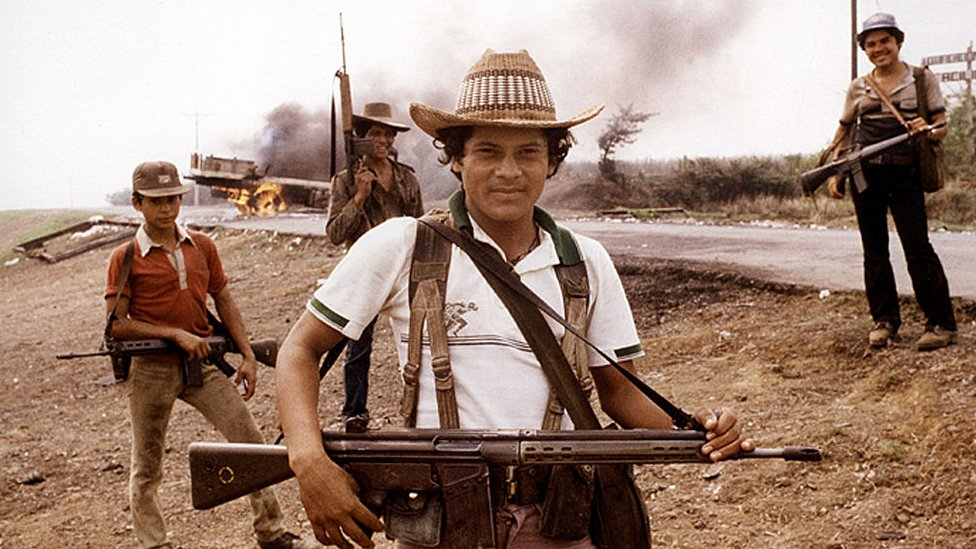 Salvadoran guerrillas in 1983