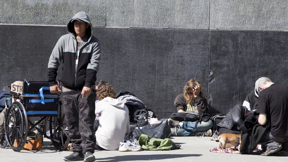 San Francisco is currently grappling with rampant homelessness
