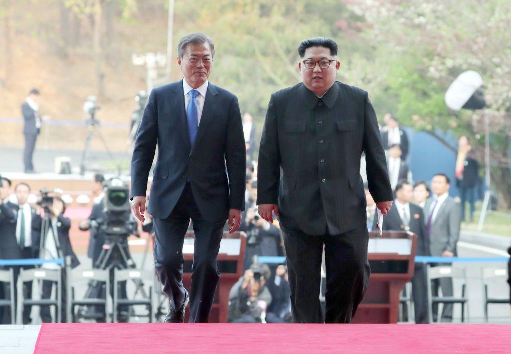 الزعيمين الكوريين