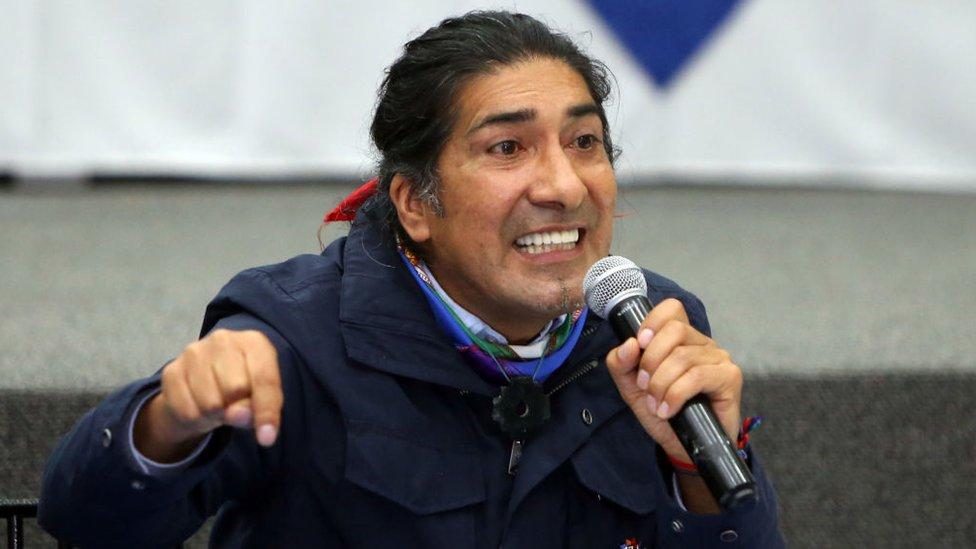 Yaku Pérez.