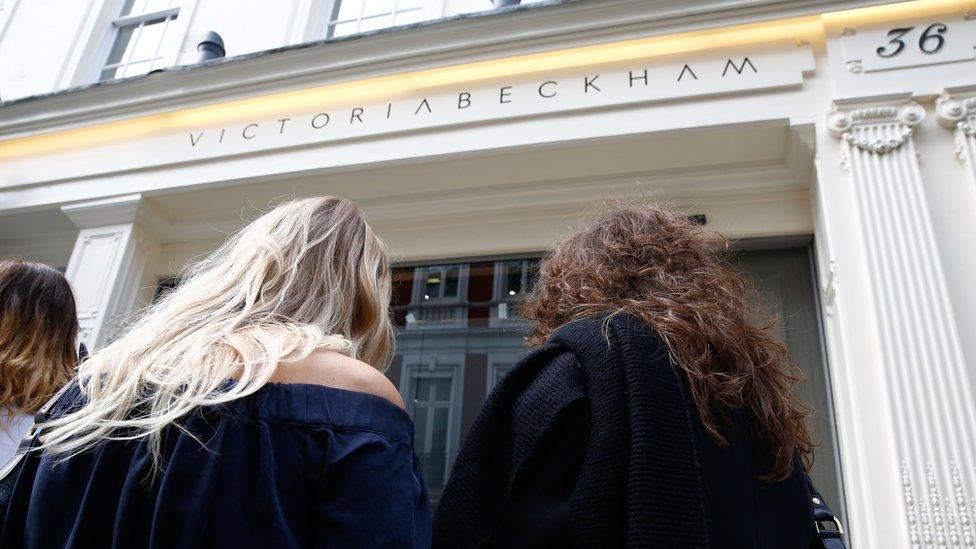 Victoria Beckham store