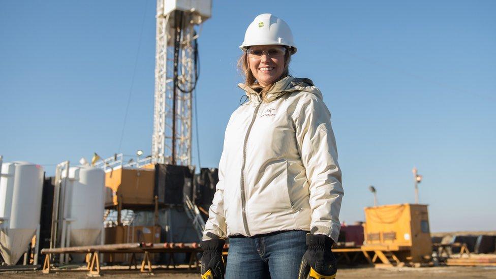 Kirsten Marcia, directora ejecutiva de la firma canadiense de energía geotermal DEEP Corp