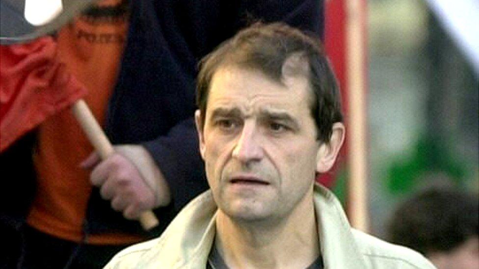 Josu Ternera, en 2002