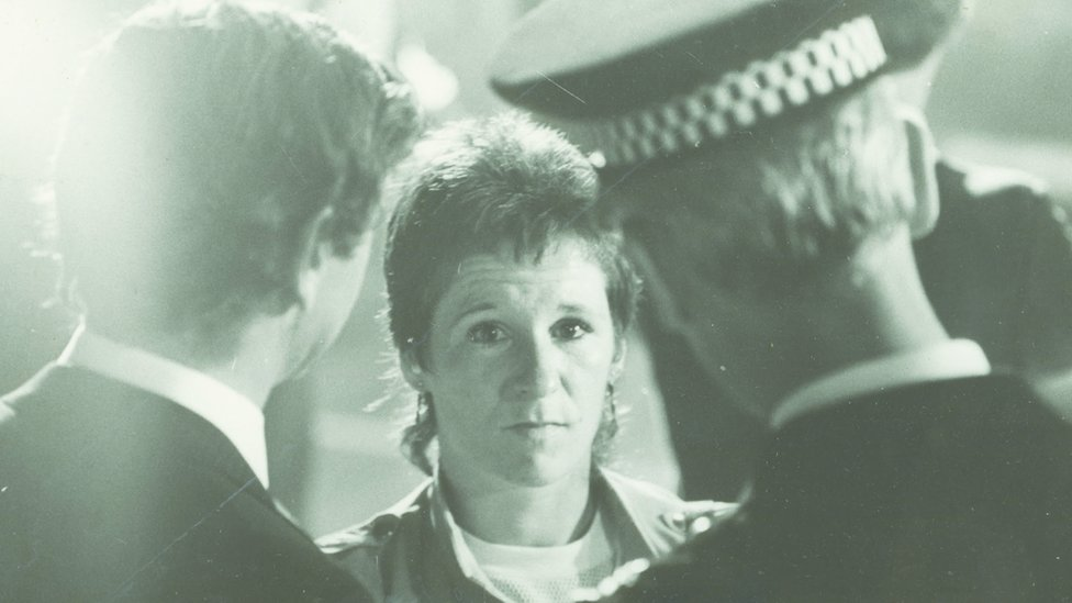 Heather Black in the 1980s. As co-founder of Muirhouse-based Community Drug Group, SHADA, Heather has a unique insight into Edinburgh's battle against AIDS.