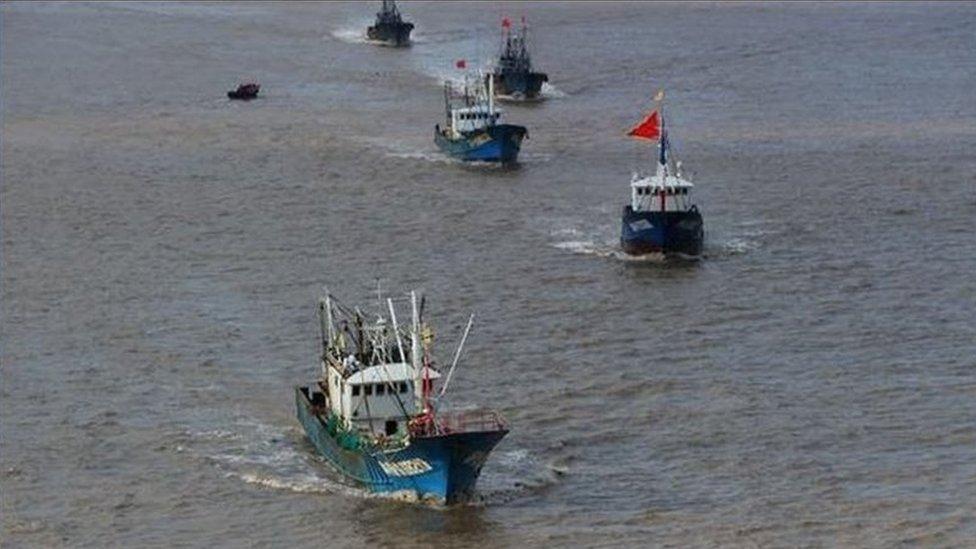 報道說中國漁民捕撈到外國的水下潛航器可以得到政府獎勵