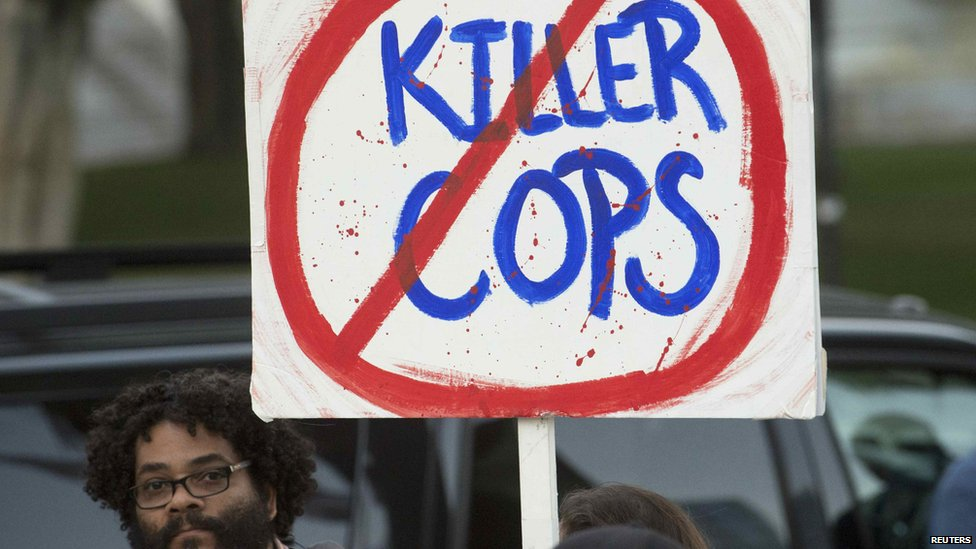 No Killer Cops sign