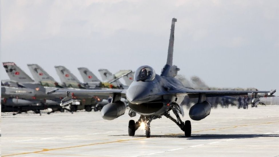 A Turkish Air Force F-16 fighter jet. File photo