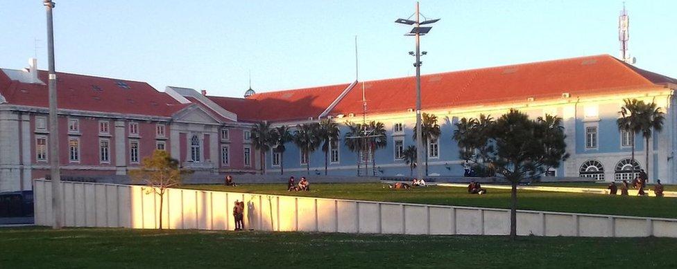 Ribeira das Naus memorial location