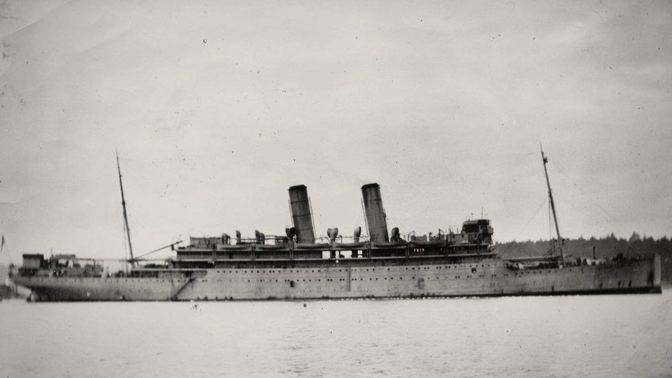El HMS Otranto