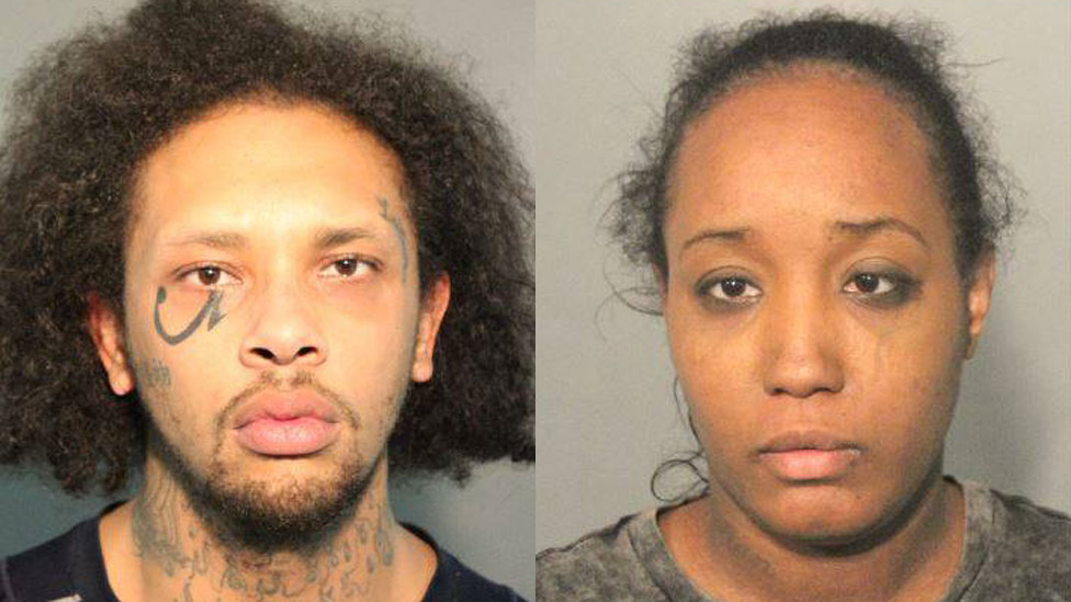 Jonathan Allen e Ina Rogers, acusados de abusar de sus 10 hijos