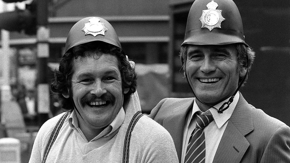 Tommy Cannon and Bobby Ball