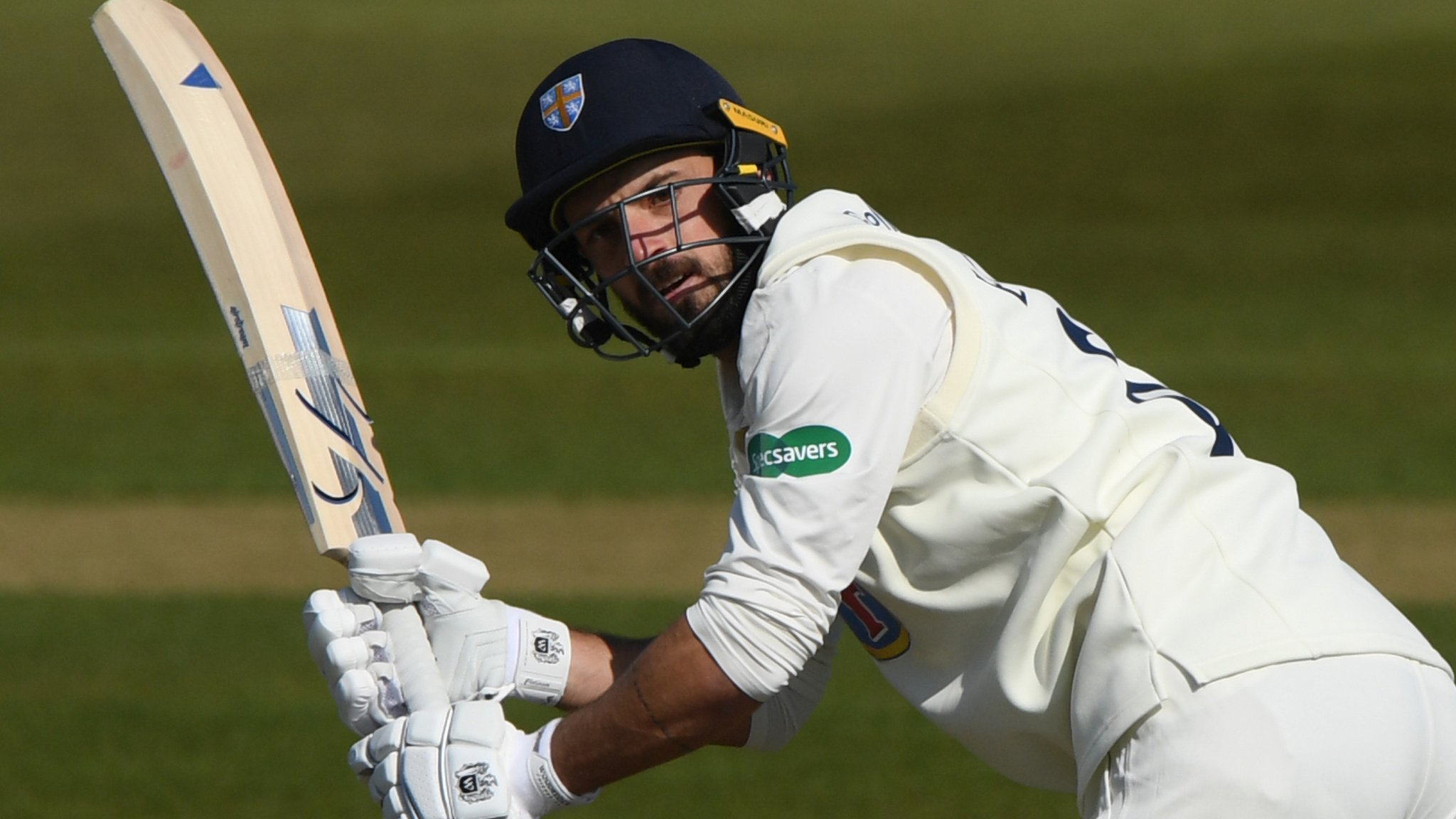 County Championship: Ned Eckersley ton helps Durham gain upper hand over Sussex