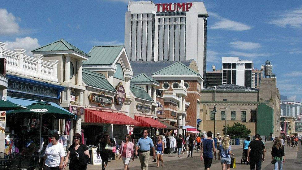 Plaza casino in Atlantic City