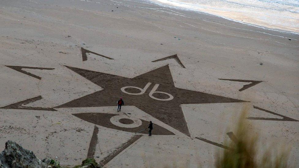 Bowie sandcircle