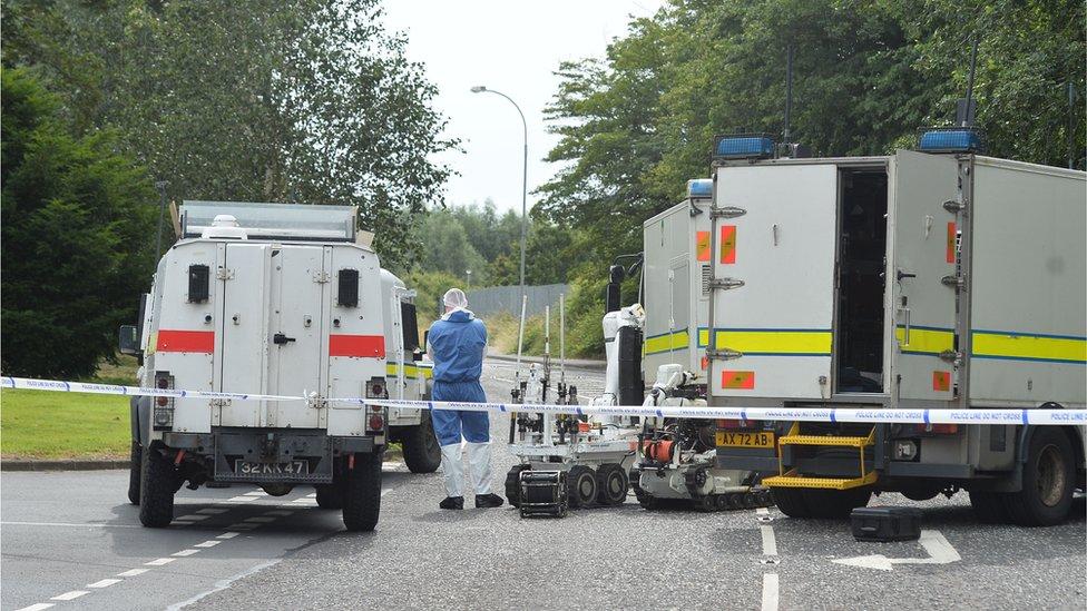 Security alert in Craigavon